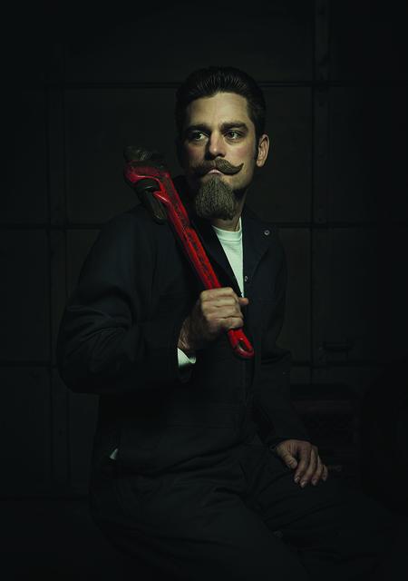 , 'The Red Wrench - Portrait II - Renaissance Series,' 2015, Urbane Art Gallery