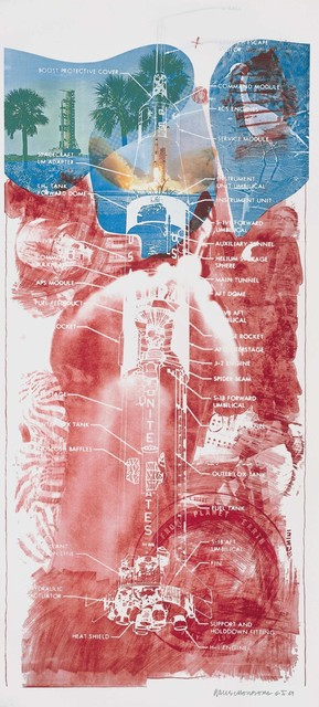 Robert Rauschenberg, 'Sky Garden (Stoned Moon)', 1969, Lithograph and screenprint, Robert Rauschenberg Foundation