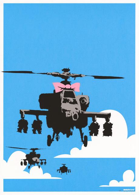 Banksy, 'Happy Choppers (Signed)', 2003, Prescription Art