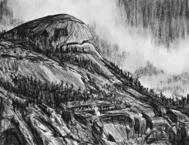 Glenn Carter, 'North Dome and Royal Arches', 2018, Dab Art