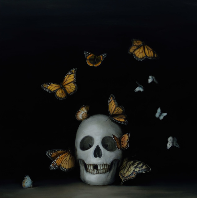 , 'Still Life with Butterflies,' 2017, Lisa Sette Gallery