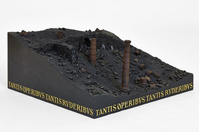 , 'Tantis Operibus Tantis Ruderibus,' 1986, Galerie Mitterrand