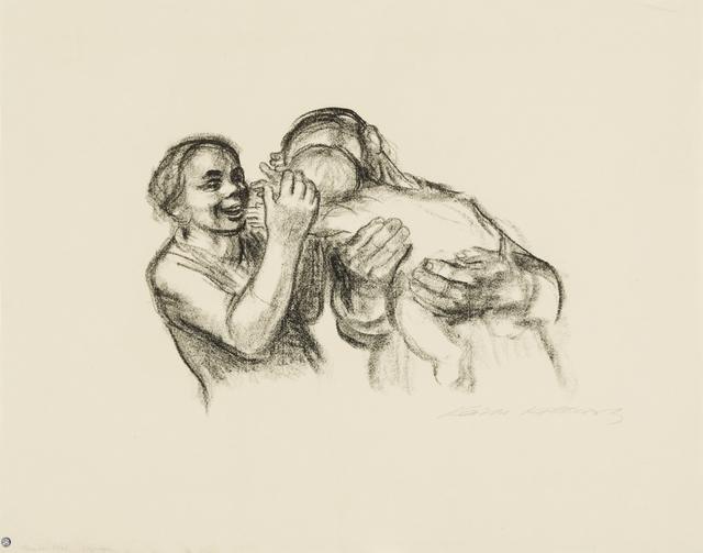 Käthe Kollwitz, 'Parents with Child, Final Version', 1931, Galerie St. Etienne