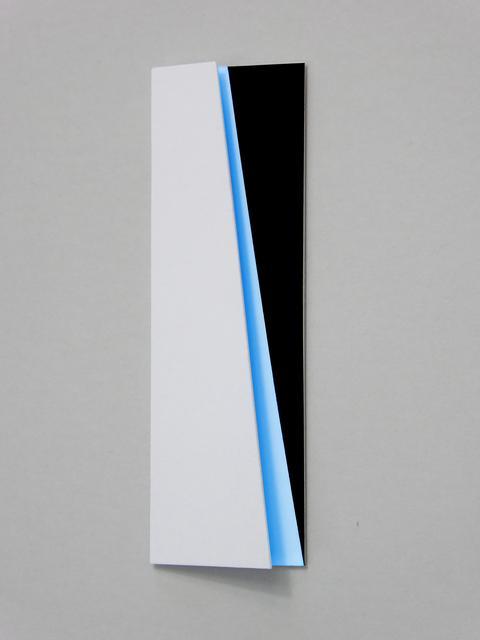 , 'Schräg dahinter leuchtblau,' 2018, Galerie La Ligne