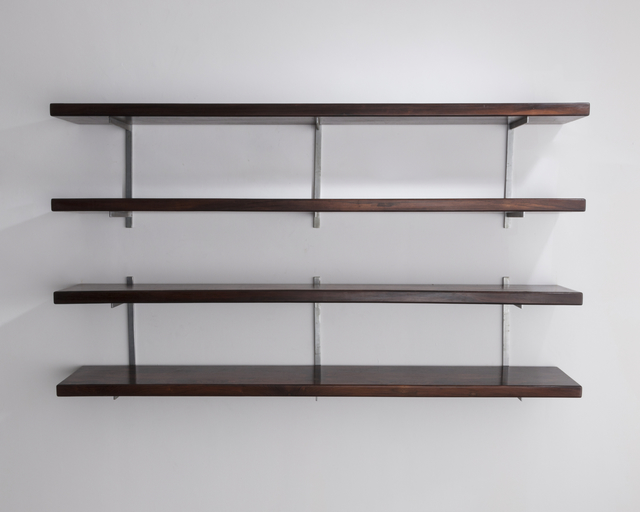 , 'Wall-mounted shelves in wood. Designed by Sergio Rodrigues, Brazil.,' 1960, R & Company