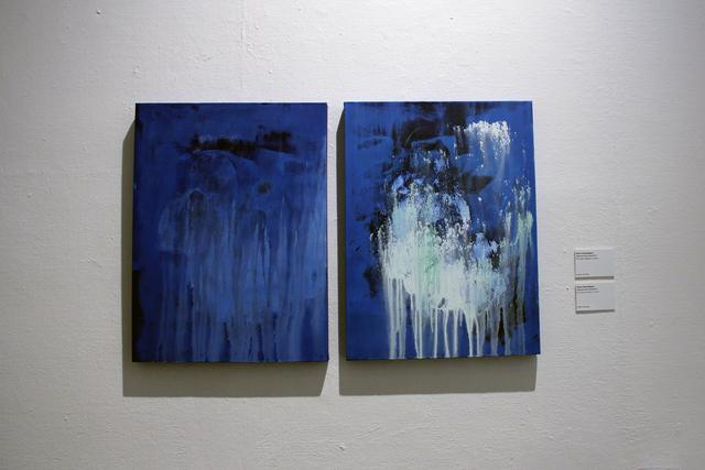 , 'Things that remain unwritten #91 (left), #92 (right),' 2017, Hong Kong Arts Centre