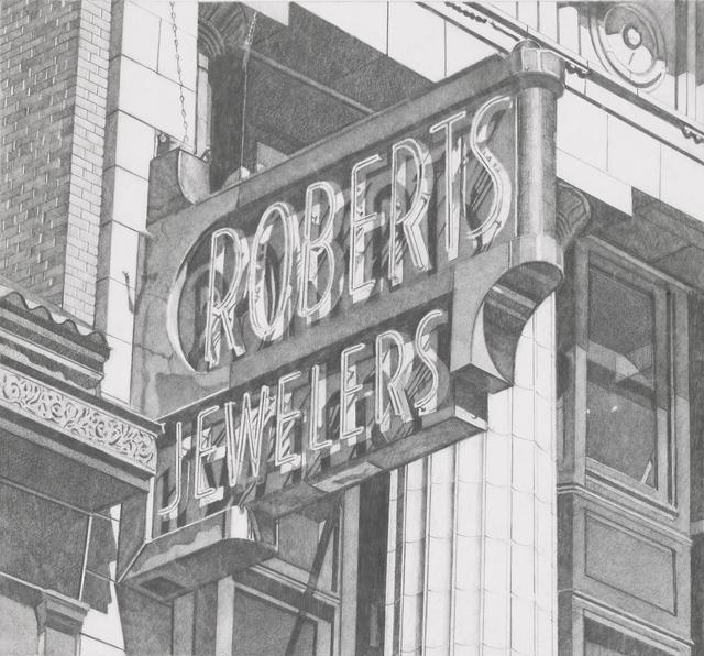 , 'Roberts Jewelers (Vertical),' 2013, Miles McEnery Gallery
