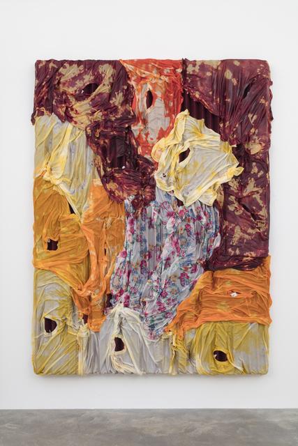 , 'Untitled (Dyed),' 2017, Casey Kaplan