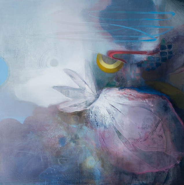 Gillian Warden, 'Once in a Blue Moon', 2019, Jacob Hoerner Galleries