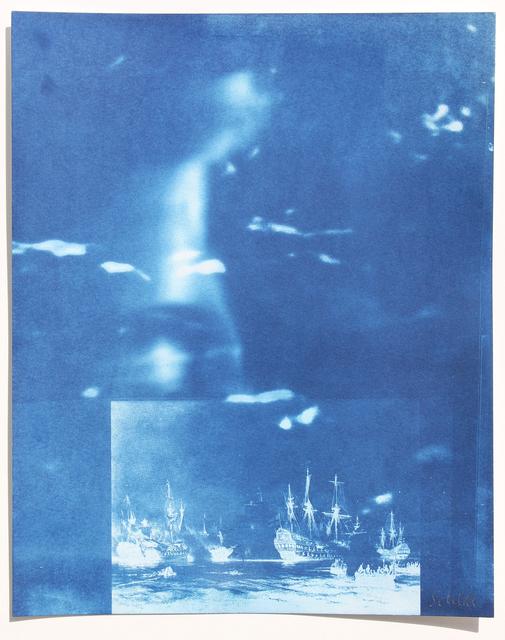 , 'Boy with Ships,' 2017, Hans Alf Gallery