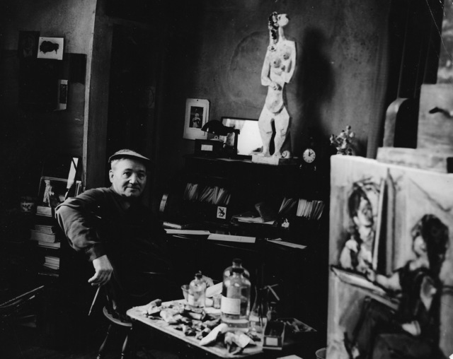 , 'Max Weber in his studio at Great Neck, Long Island,' 1948-1950, Staley-Wise Gallery