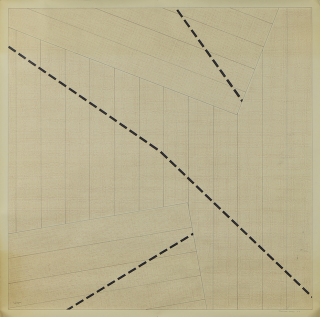 , 'Tensional Games Nr.6,' 1975-1976, Jecza Gallery