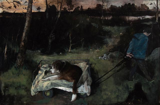 , 'Walking Henry,' 2016, Valley House Gallery & Sculpture Garden