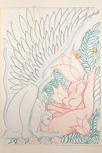 , 'Fallen Angel and The Virgin Whore- Ecstasy ,' 2015, OLSEN GALLERY