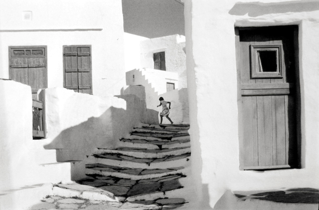 , 'Siphnos, Greece (Girl on Stairs),' 1961, Holden Luntz Gallery