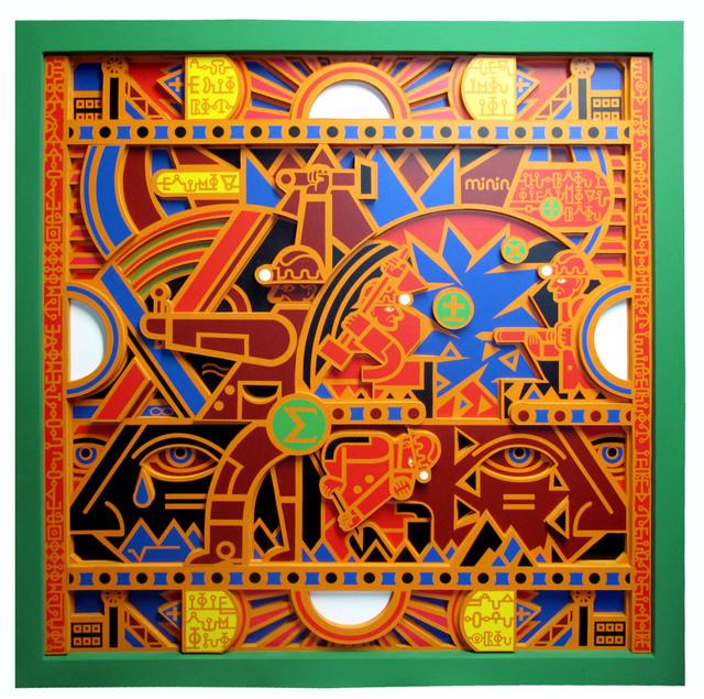 , 'Native Mathematics Green,' 2016, Zenko Gallery