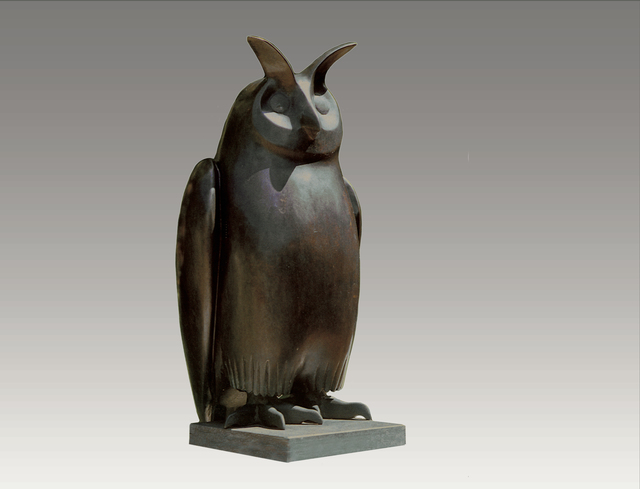, 'Eagle Owl,' , Robert Hooke Sculpture Gallery