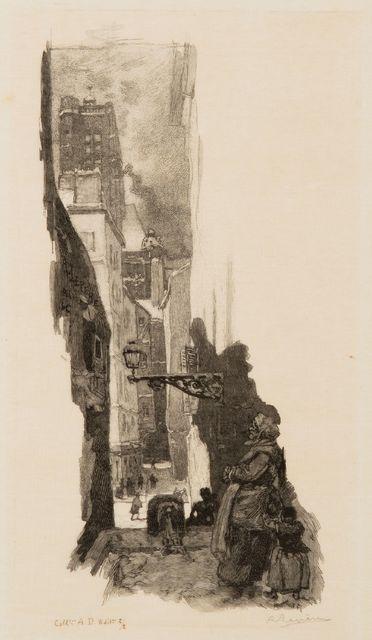 , 'Rue Grenier-sur-l'Eau, Paris,' 1886, Childs Gallery