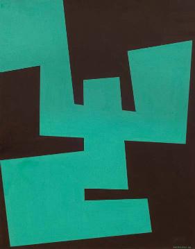 , 'Formas,' 1958, Galería de las Misiones