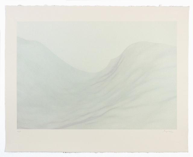 , 'Drift,' 2017, Tamarind Institute