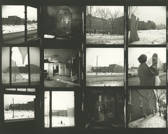 , 'VM1963W00684 - Untitled (Contact Sheet) Snow Scenes,' Printed 2017, KP Projects