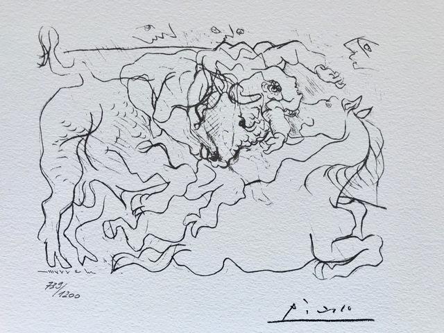 Pablo Picasso, 'Morte au Soleil IV (Suite Vollard Planche XVI)', 1973, ByNewArt