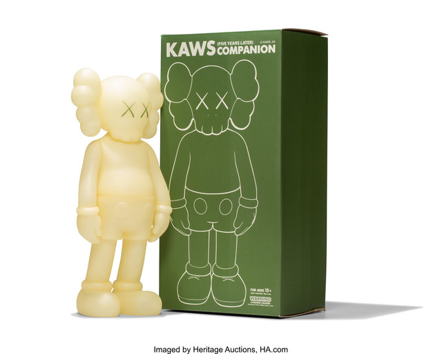 KAWS, 'Companion, Five Years Later (Glow in the Dark)', 2004, Heritage Auctions