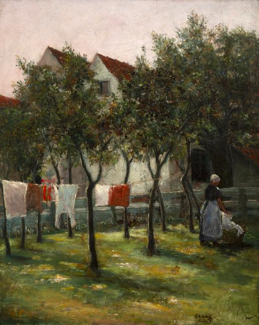 , 'Washday,' 1891, InLiquid