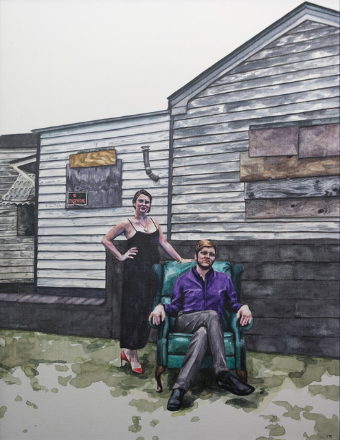 , 'MB and Drew,' 2018, The Southern