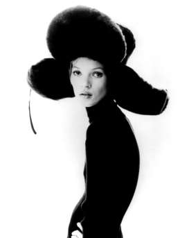 , 'Girl with Hat: Kate Moss,' 1993, Staley-Wise Gallery