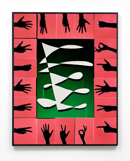 , '18 Hands,' 2017, M+B