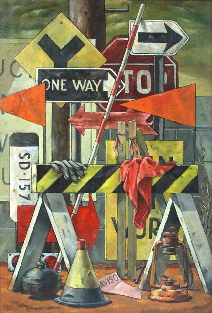 , 'Construction Zone,' 1963, Sullivan Goss