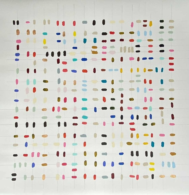 Colleen Leach, 'Linear 1', 2021, Painting, Mixed Media on Paper, Shain Gallery