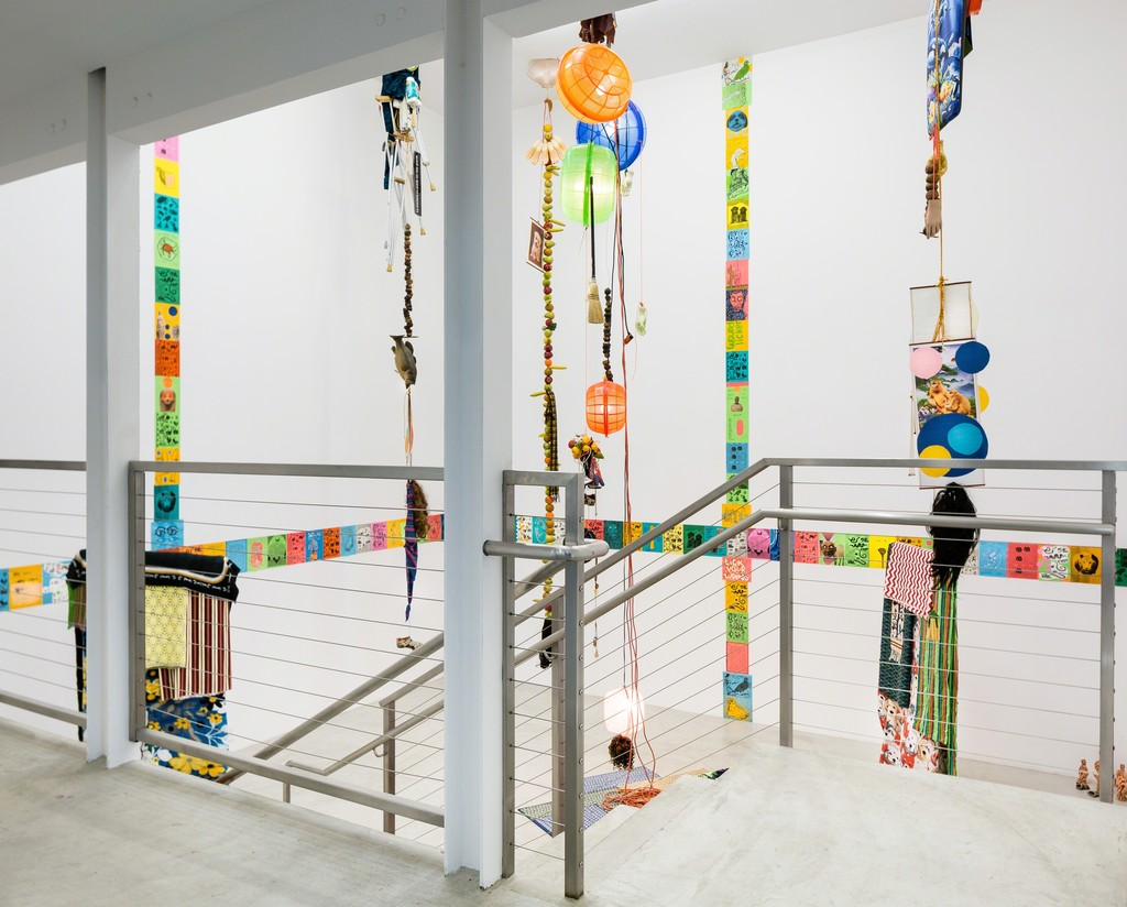 Matt Wardell solo show, installation view