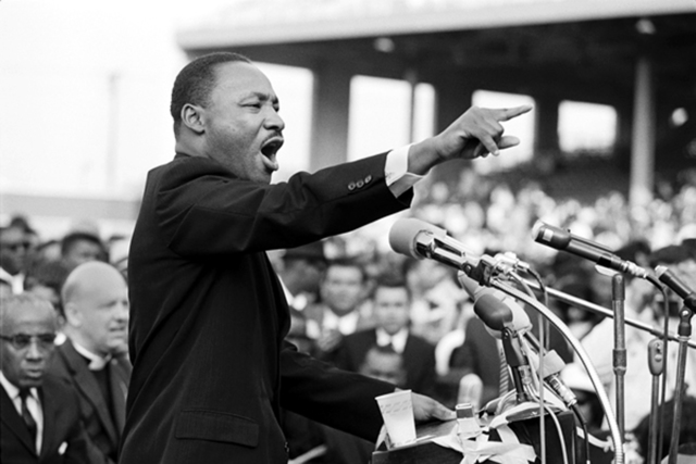 , 'Martin Luther King, Los Angeles,' , Hilton Asmus