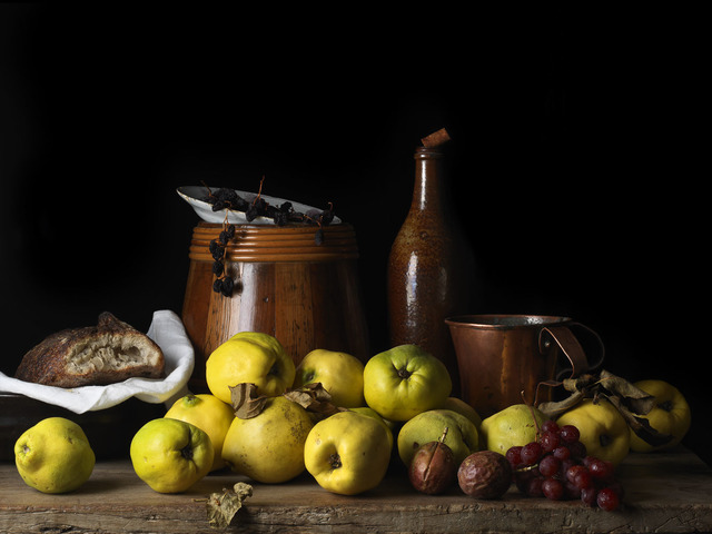 , 'Still Life with Quince and Jug, After L.M.,' 2014, Snite Museum of Art
