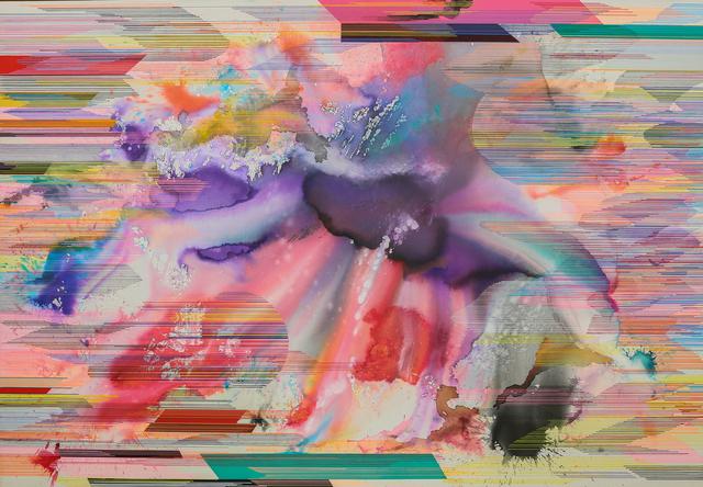 Juan Carlos Muñoz Hernandez, 'Dragon Dog', 2016, Painting, Mixed Media on Canvas, Simard Bilodeau Contemporary