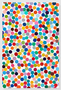 Damien Hirst Colour Space Paintings Gagosian Artsy