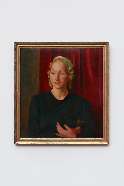 """Werner Peiner, '""""Portrait of Martha Quandt""""', 1926, Art 1900"""