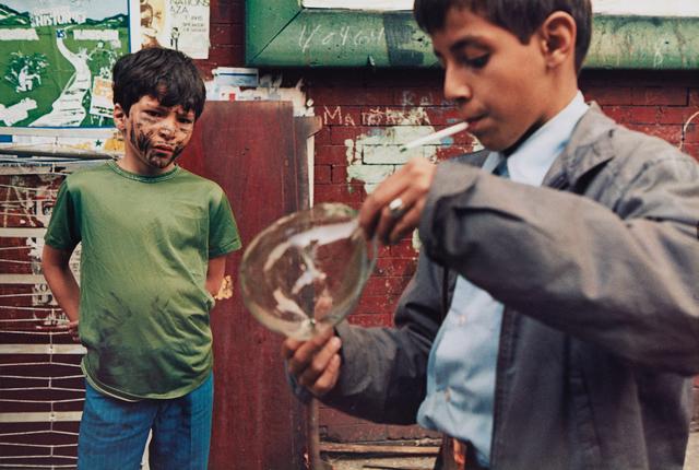 Helen Levitt, 'New York (boy with bubble)', 1972-printed 1992, Phillips