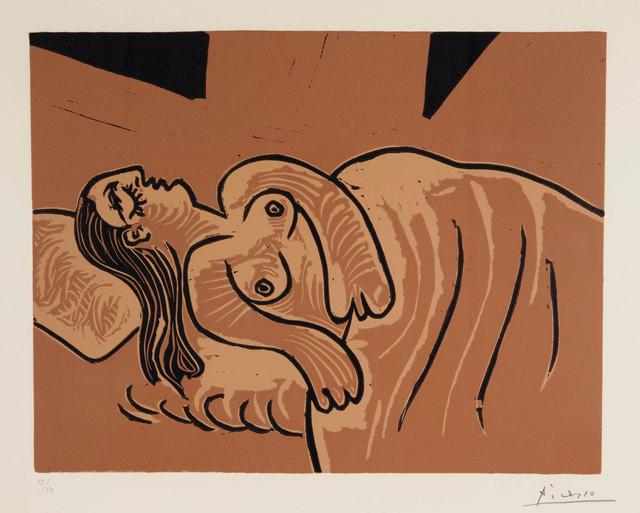 , 'Femme endormie (Dormeuse),' 1962, Marlborough Gallery