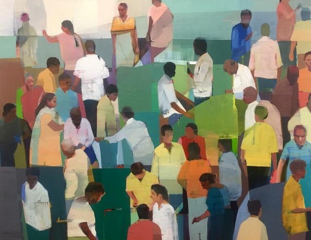 , 'Market # 4,' 2016, Andrea Schwartz Gallery