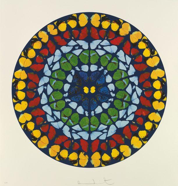 Damien Hirst, 'Psalm: Quare Fremuerunt Gentes', 2009, Print, Silkscreen with glaze, Robin Rile Fine Art