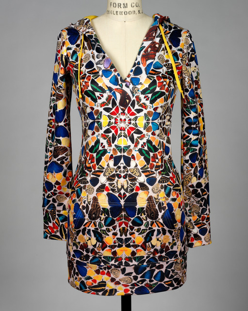 Damien Hirst, 'Limited Edition Butterfly Print Hoodie', 2008, RISD Museum