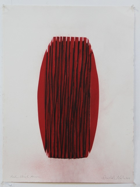 , 'Red Sliced Form ,' 2014, Annely Juda Fine Art