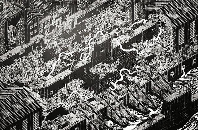 M-City, 'm-city 1020 (Shipyard)', 2018, Urban Spree Galerie