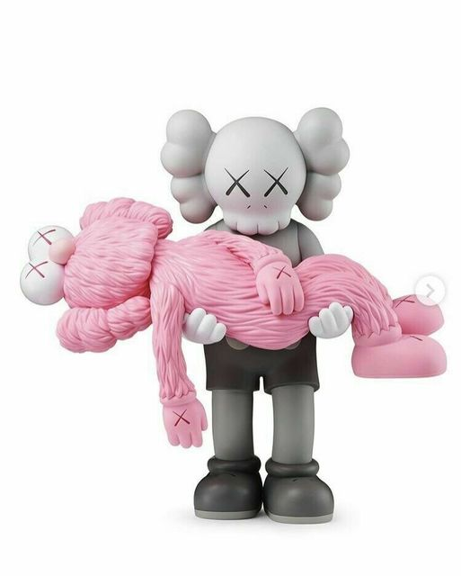 KAWS, 'GONE COMPANION GREY AND BFF PINK', 2019, Dope! Gallery
