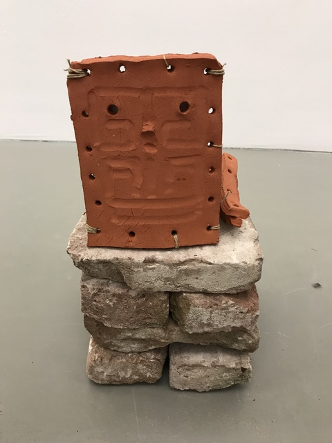 , 'Small Square Head,' 2018, Galerie Fons Welters