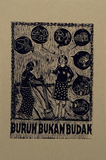 , 'Buruh Bukan Budak (Workers are Not Slaves),' 2004, Para Site