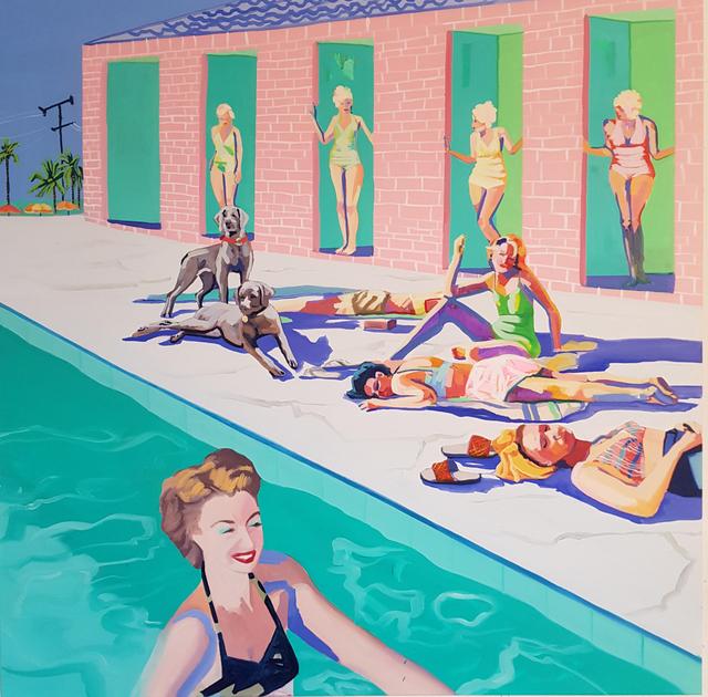 , 'Sunbeams,' 2018, Florida Fine Art